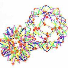 Kids Childrens 32cm Expandable Magic Ball Toy Multi Colours Plastic Enlarge Fun