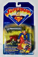 Superman Animated Series / action figure / Power Swing Superman / MOC