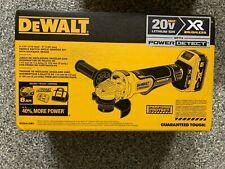 """DeWALT DCG415W1 20V MAX XR 4-1/2 - 5"""" Angle Grinder Kit (Battery + Charger)"""