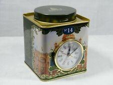 A Quartz Kitchen Clock made from a Harrod's Tea Blend No 14 Caddy,Superb !.