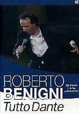 DvD TUTTO DANTE Roberto Benigni ***Spettacolo XXXIII L'ultimo del Paradiso***NEW