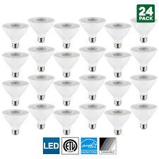 24 Pack Sunlite LED PAR30S Spotlight, 10W, 4000K Cool White, Medium Base
