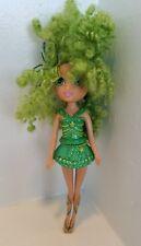 Barbie - Fairytopia - Magic of the Rainbow Doll Green Curly Hair Fairy 5 Inch