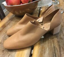 Women's Madewell The Kirstie Lowcut Bootie in Leather Size 11 Amber Brown