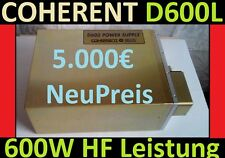 COHERENT DEOS D600L Laser 600W HF Netzteil RF POWER Supply CO2 YAG GEM CW optic