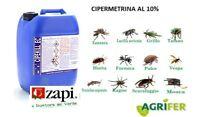 ZAPI CIPEKILL 1 LT CIPERMETRINA 10 % ZANZARE MOSCHE SCARAFAGGI BLATTE