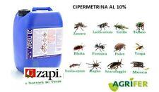 ZAPI CIPEKILL 1 LT CIPERMETRINA 10 % INSETTICIDA ZANZARE MOSCHE SCARAFAGGI PULCI