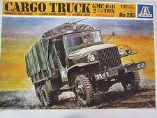 Italeri Cargo Truck GMC 6x6 2 1/2 Ton Model 1:35