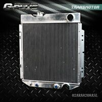 For 64-66 FORD MUSTANG/SHELBY V8 L6 MT/AT 62mm Aluminum Racing Radiator