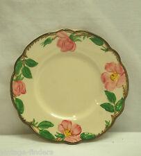 Vintage Desert Rose TV Backstamp USA Franciscan Bread & Butter Plate Pink Roses