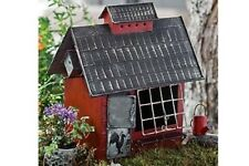 Miniature Dollhouse Fairy Garden - Birders Cottage Red - Accessories