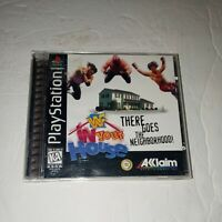 WWF: In Your House (Sony PlayStation 1, 1996) Complete Disk  excellent shape
