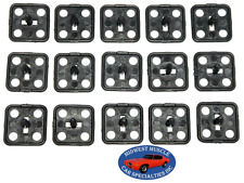"""64-72 GM Chevy Buick Olds Pontiac Hood Insulation Clips 1-1/2""""X1-1/2"""" 15pc FR"""