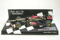 Lotus F1 Team Renault E21 No.7 Kimi Raikkönen Winner Australian GP 2013  1:43