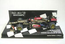 Lotus F1 équipe Renault E21 N° 7 Kimi Raikkönen Gangant Australien GP 2013 1:43