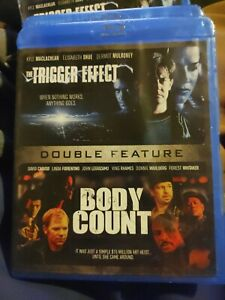 THE TRIGGER EFFECT + BODY COUNT New Sealed Blu-ray Double Feature