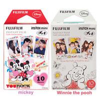 20 Sheets Winnie + Mickey Fujifilm Instax Mini Film For Mini 9 8 8+ 7s 70 90 25