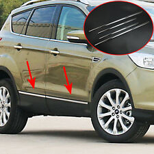 For Ford Escape Kuga 2013-2017 Steel Door Side Body Molding Trim Protector Strip