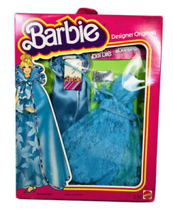 Vintage 1978 Barbie Royal Ball Blue Dress Outfit In Original Box