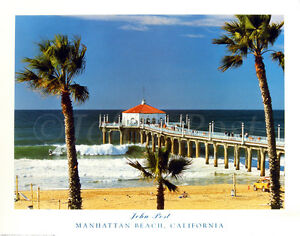 Manhattan Beach, Pier, California, Hermosa Beach, Redondo Beach, Los Angeles, CA