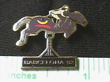 OLYMPIC PIN COLLECTIONS: BARCELONA 1992 OLYMPIC BARCELONA '92 Equestrian