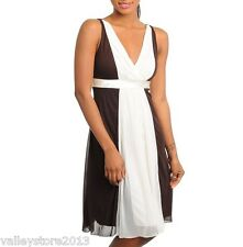 RX1 New Sexy Multicolor Brown White Mini Rave Summer Formal Cocktail Dress S M L