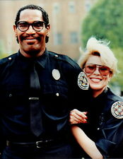 Leslie Easterbrook Bubba Smith 8x10 photo P0813