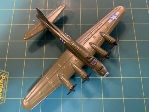 """B-17 FLYING FORTRESS DIECAST MILITARY AIRPLANE """"2nd PATCHES"""""""