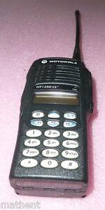 Motorola Handie Talkie HT1250 programming service