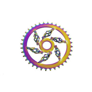 """Neo Caged Twisted Bicycle Chainring Sprocket 36T  X 1/8"""" Lowrider Cruiser Bikes"""