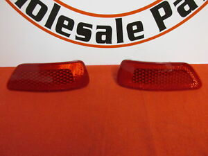 DODGE JEEP Rear Drivers And Passenger Side Bumper Reflector NEW OEM MOPAR