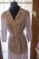 VINTAGE 80's  ~ TERE'S ~ Pastel Shirt DRESS * Size 16 *