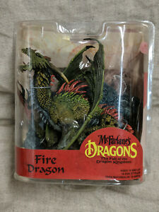 McFarlane's Dragons The Fall Of The Dragon Kingdom FIRE DRAGON  series 7
