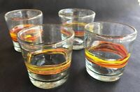 Crate And Barrel Double Old Fashioned. Recycled Glass 11 Oz Set Of 4