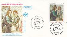 Enveloppe 1er Jour PARIS 25/02/2000 Sandro BOTTICELLI Vénus et les Grâces... ti.