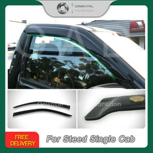 Luxury Weather Shields Weathershield for Great Wall Steed single cab 16+ T