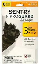 Sentry Fiproguard for Dogs, Flea and Tick Prevention for Dogs (4-22 Pounds)