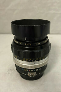 NIKON NIKKOR-H AUTO 85MM F1.8 AI MANUAL FOCUS LENS