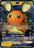 1x - Dedenne GX - 57/214 - Ultra Rare LP Pokemon Unbroken Bonds