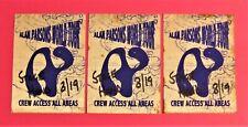 Alan Parsons Vintage Backstage Passes – 3 Total