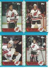 1989-90 Topps New Jersey Devils Team Set