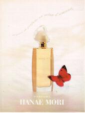 PUBLICITE ADVERTISING 025  1995  HANAE MORI  parfum femme