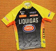Liquigas Patatine Pata, Short sleeve cycling shirt by Nalini, Size - Medium