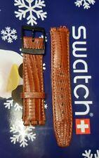 Swatch strap pelle  Chrono-Automatici- Scuba -ATTACCO 17 mm- brown