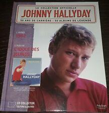 JOHNNY HALLYDAY LIVRE + CD L IDOLE DES JEUNES DE LA COLLECTION OFFICIELLE