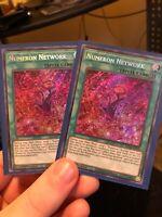 2x Numeron Network 1st Edition Secret Rare BLAR-EN026 Yu-Gi-Oh!