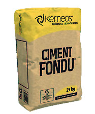 More details for ciment fondu, fire cement, high temperature high alumina cement fondu 25kg