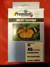 Premium For 45  51645A Black Ink Cartridge