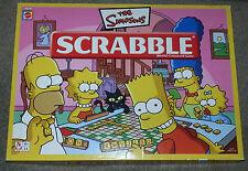 Simpsons Scrabble By Mattel Games,  Complete & excellent condition. UK P & P inc