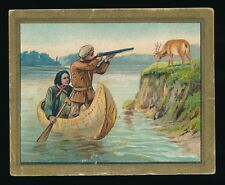1910 T57 Turkish Trophies FABLE SERIES (1-50) -The One Eyed Doe (Fac 30)